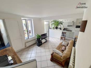 Maison 3 pièces 55,59 m2