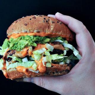 Spicy Peanut Butter Burger