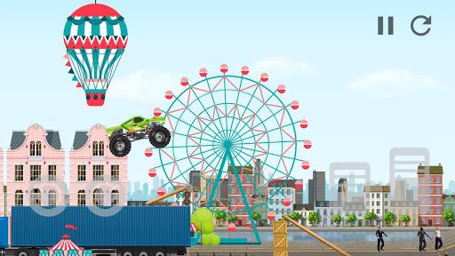 Code Triche Monster Truck Crot: Monster truck racing car games APK MOD screenshots 5