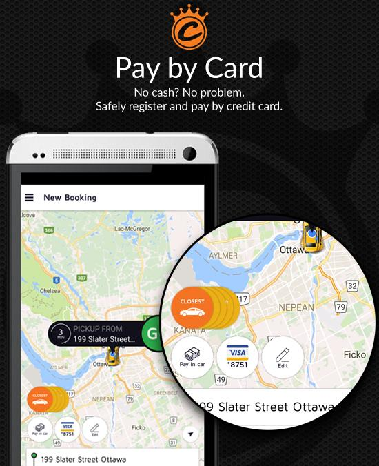 Capital Taxi Ottawa- screenshot