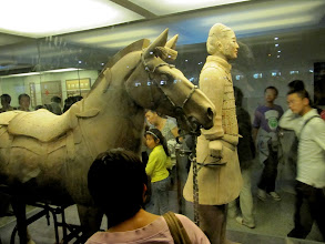 Photo: Day 188 - Perfect Example in Display Case -  Terracotta Warriors in Xi'an #4