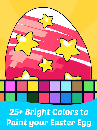 Easter Egg Coloring Game For Kids  screenshots 1