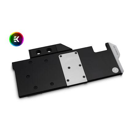 EK vannblokk for skjermkort, EK-Vector Radeon RX 5700 +XT RGB - Nickel + Acetal