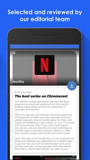 Apps for Chromecast - Your Chromecast Guide screenshot
