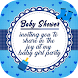 Baby Shower Invitation Card Maker - Androidアプリ