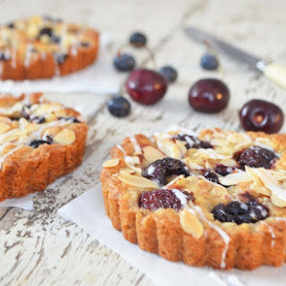Warm Cherry Tart
