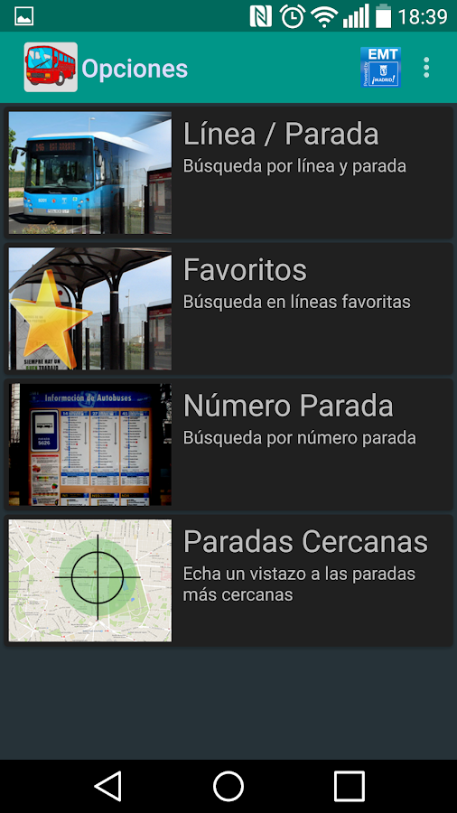 Bus Madrid- screenshot