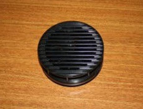 Luftventil med automatisk öppning för kabinett CS