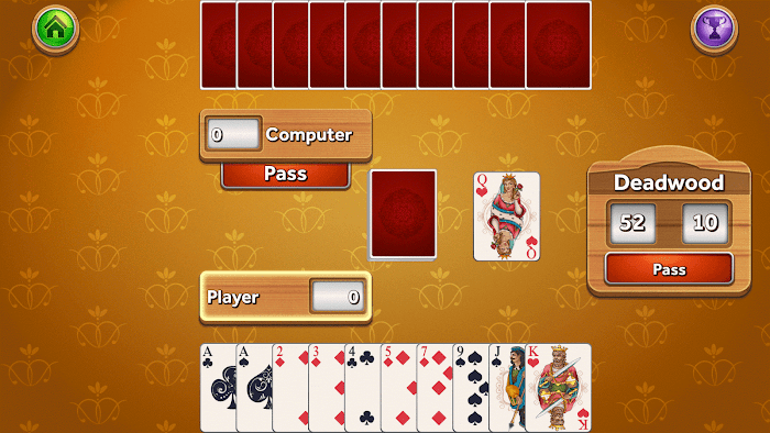 Gin Rummy Deluxe- screenshot