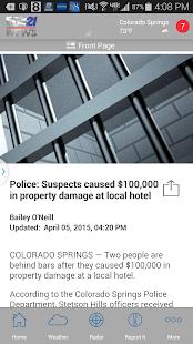 FOX21 News   KXRM - screenshot thumbnail