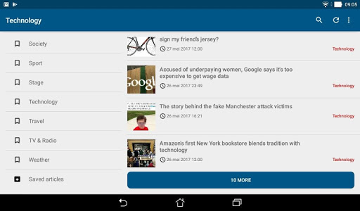 Guardian Reader screenshot 10