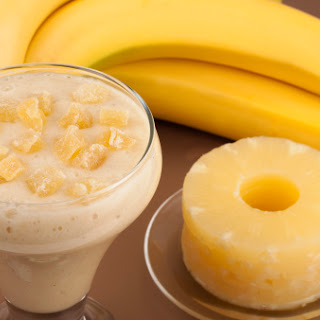 Melt Fat Like Crazy with This Magical Banana Pineapple Drink! Recipe