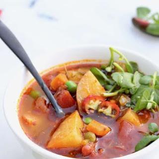 Healthy Vegan Potato Soup Recipe
