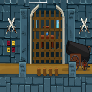 Blue Castle Escape screenshot 0