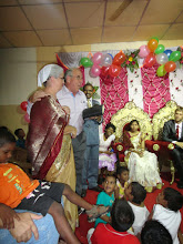 Photo: I also was asked to preach at the Cuttack reception.