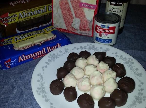 Cake Mix Truffles Recipe