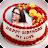 Name Photo on Birthday Cake logo