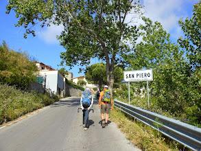 Photo: Arrivati a S. Piero 120mt...