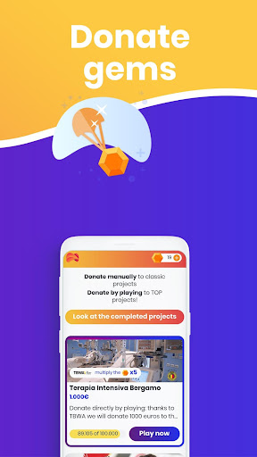 Gamindo - Donate by playing apktram screenshots 4
