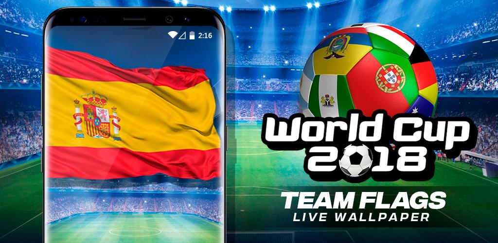 Descargar World Cup 2018 Teams Flags Live Wallpaper 10