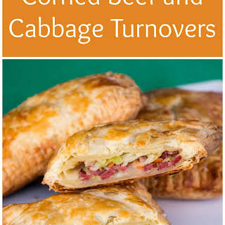 Corned Beef and Cabbage Turnovers.