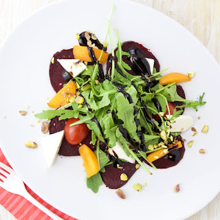 Beets, Goat Cheese and Apricot Salad