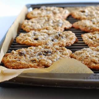 Crispy Marshmallow Chocolate Chip Cookies.
