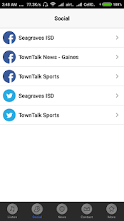 Seagraves Sports Radio- screenshot thumbnail