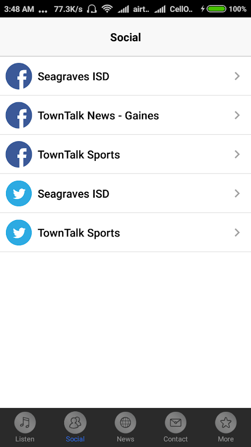 Seagraves Sports Radio- screenshot
