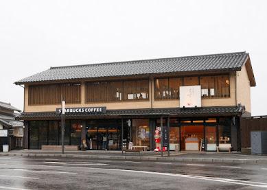 和と洋の縁結びがコンセプト / 島根県出雲市「スターバックスコーヒー出雲大社店」