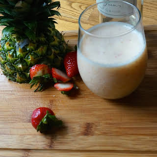 Tropical Wine Smoothie.