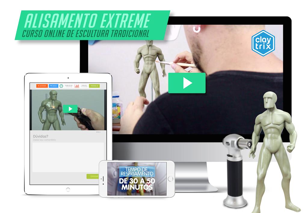 Curso Alisamento Extreme | Claytrix | Escultura Para Iniciantes