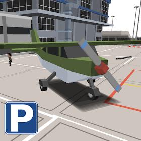 парк аэропорт Блочный самолет