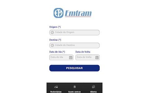 Emtram screenshot 2