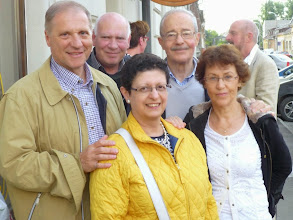 Photo: Cu Peter Freiberger, Albert Herzfeld, Lia Borza (Marton), Getta Neumann