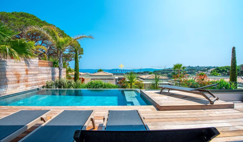 Maison avec piscine en bord de mer Sainte-Maxime