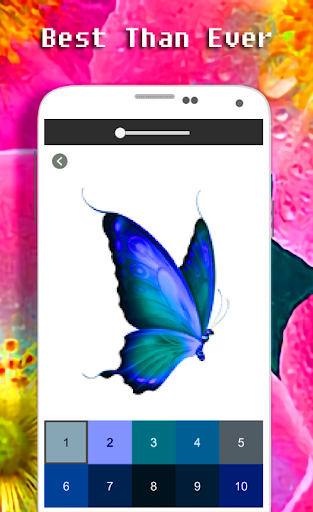 Butterfly Coloring Book - Color By Number apkdebit screenshots 2