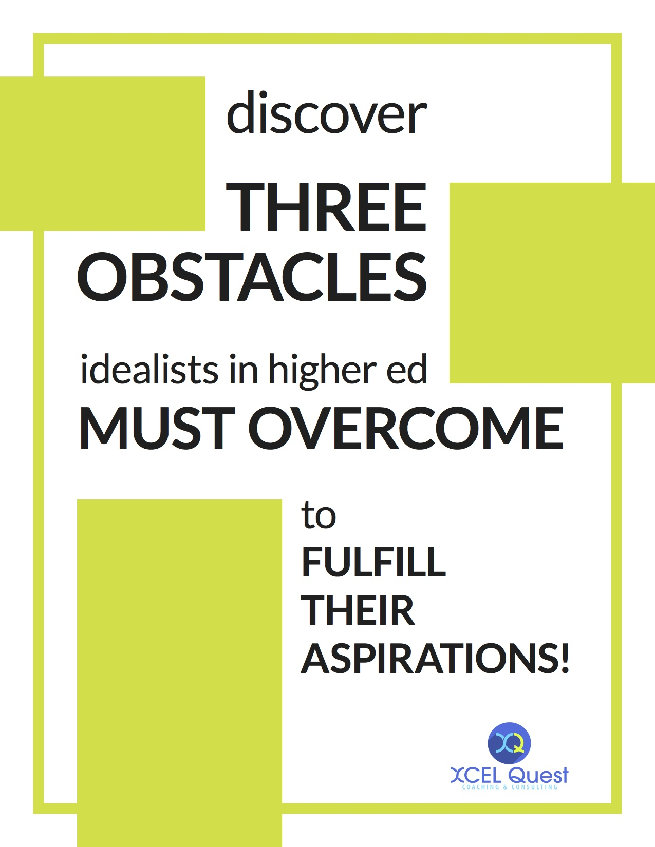 Discover the OBSTACLES!