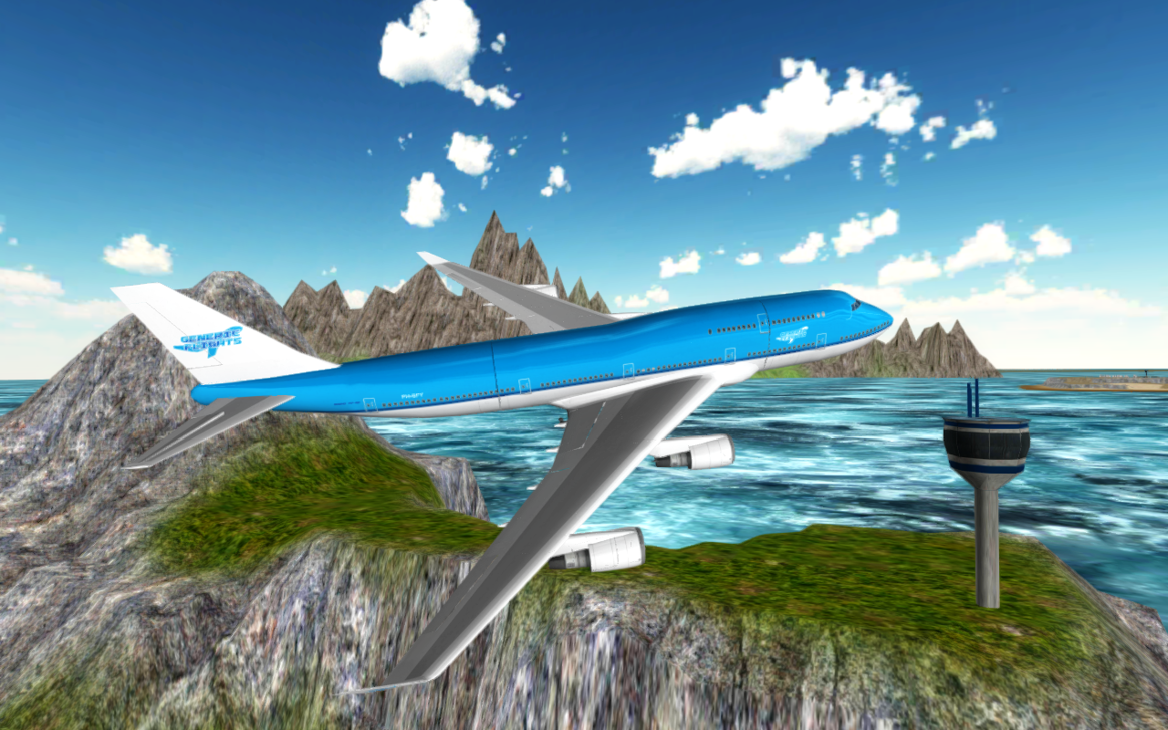 Flight Simulator: Fly Plane 3D- screenshot