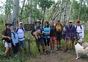 Photo: RVR Hiking group at Ragged Mountain