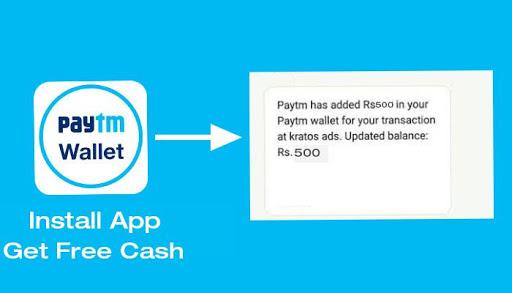 Paytm Wallet Cashback Free for PC