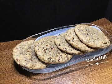 Copycat Hilton Hotel Welcome Cookies