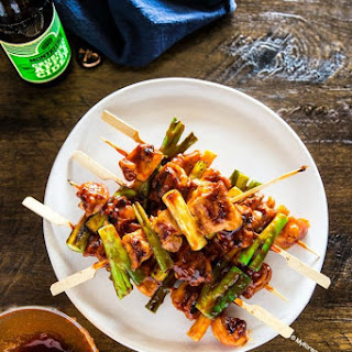 Korean Chicken Skewers (Dakkochi) Recipe