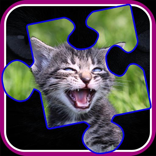 Kitty Cat Jigsaw Puzzles 棋類遊戲 App LOGO-硬是要APP