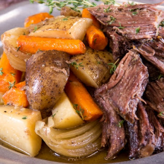 Slow Cooker Beef Roast Vegetables Recipes.