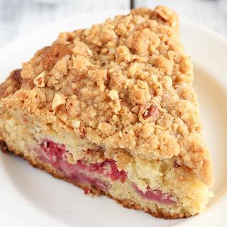 Raspberry Almond Crumb Cake