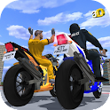 Police Bike - Gangster Chase icon
