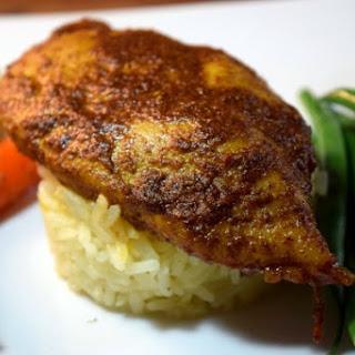 Weeknight Indian Spiced Tandoori Chicken.