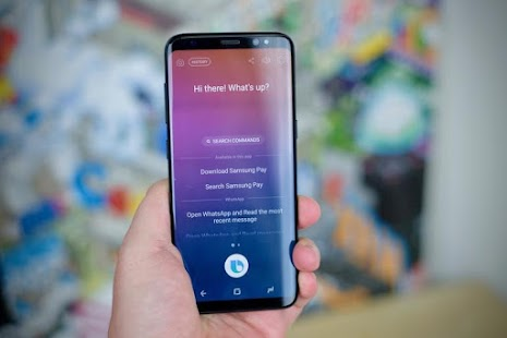 Bixby Assistant Commands - náhled