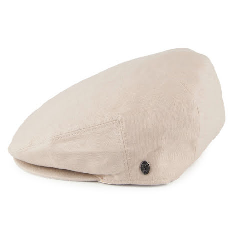 Linen Flat Cap